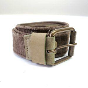 Dolce&Gabbana Army Logo Adjustable Belt - Green